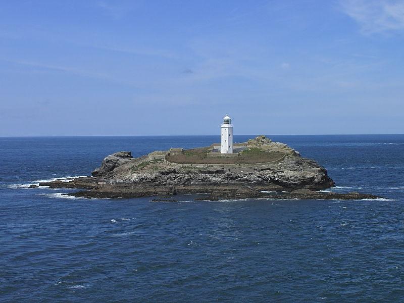 Godrevy Island from Godrevy Point