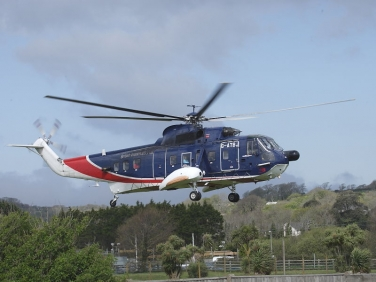 Isles of Scilly helicopter service from Penzance