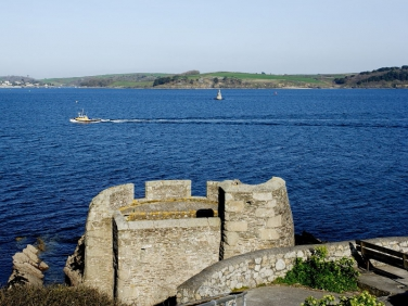 Pendennis Point , Fal Estuary,Falmouth, Cornwall