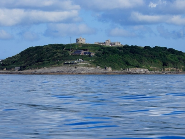 Pendennis Point in Falmouth, Cornwall
