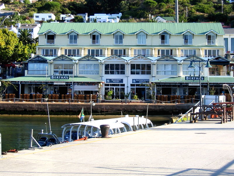 Bertha's Restaurant Simon's Town Cape Peninsular South Africa © Claire Ogden