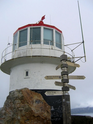 Cape Point lighthouse, Cape of Good Hope, South Africa