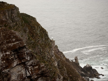 Cape Point lower lighthouse,, Cape of Good Hope, South Africa