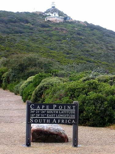 Cape Point  lighthouse path, Cape of Good Hope, South Africa