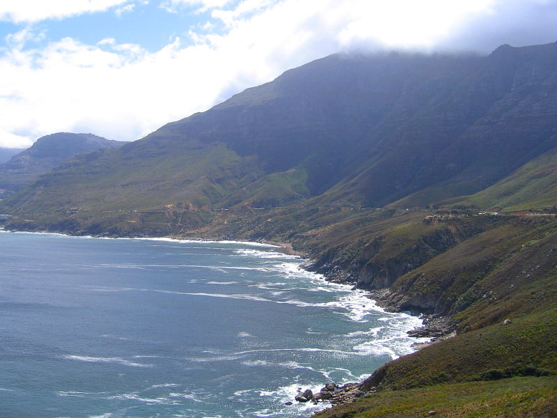 Coastal views from the R44 leading to Rooi Els and Betty's Bay, South Africa © 2006 Claire Ogden