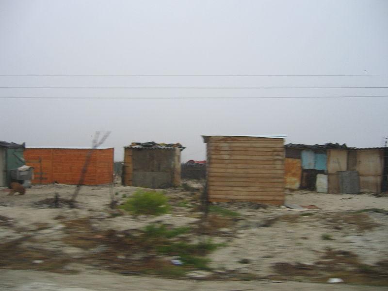Mitchells Plain township near Cape Town South Africa