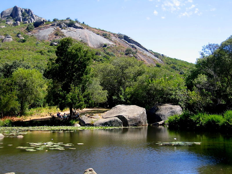Pool in Paarl Mountain Nature Reserve, near Cape Town, South Africa © Steve Ogden