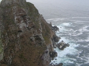 Cape Point cliffs and lighthouse, Cape of Good Hope, South Africa