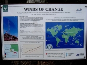 Cape Point wind information board, Cape of Good Hope, South Africa
