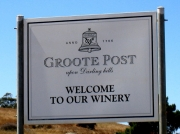 Groote Post winery in the Darling Hills, South Africa