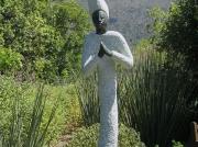 Sculpture at Kirstenbosch National Botanical Gardens, Cape Town, South Africa