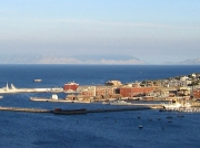 Simon's Town naval port on the Cape peninsula, South Africa