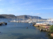 Simon's Town harbour and pontoons